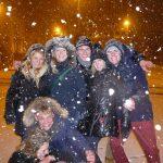 Schnee in Brüssel
